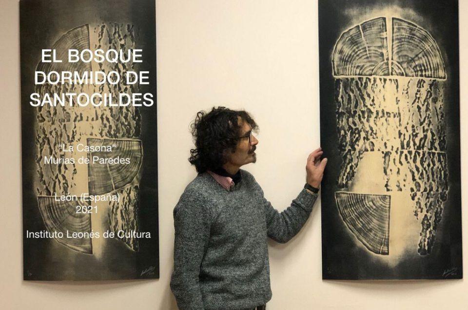 """El """"bosque dormido"""", de José Antonio Santocildes, crece en La Casona"""